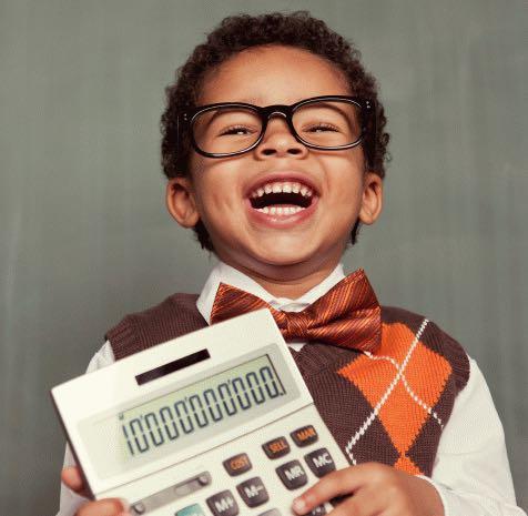nerdy personal finance kid