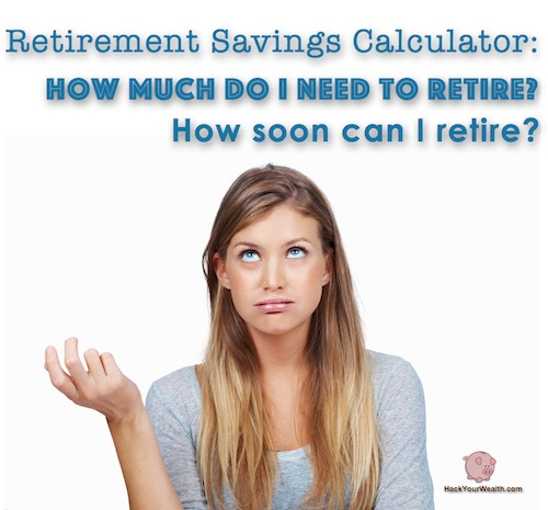 Retirement Savings Calculator: How Much Do You Need To Retire And