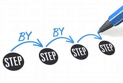 step by step walkthrough