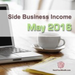Income Report: May 2016 Side Business Results