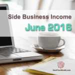 Income Report: June 2016 Side Business Results