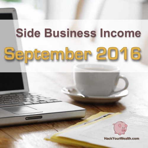 2016 September side business results