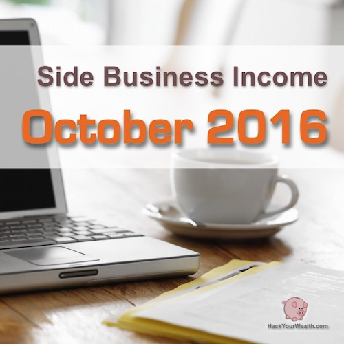 2016 October side business results