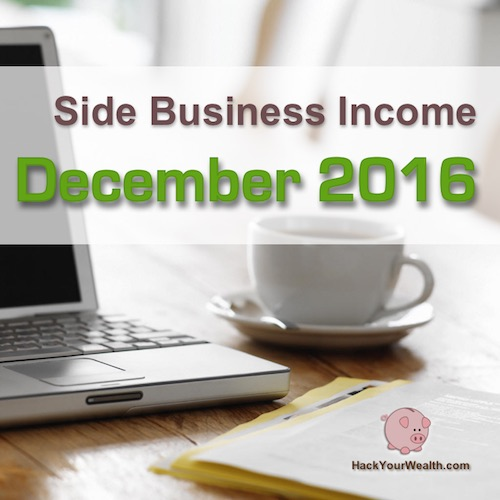 2016 December side business results