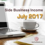 Income Report: July 2017 Side Business Results