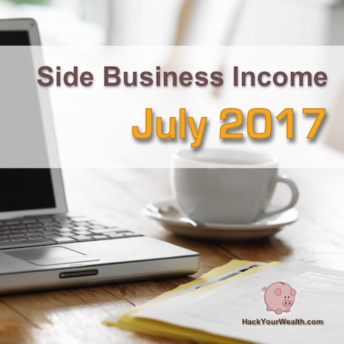 2017 July side business results