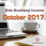 Income Report: October 2017 Side Business Results