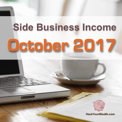 2017 October side business results