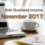 Income Report: November 2017 Side Business Results