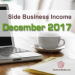 Income Report: December 2017 Side Business Results