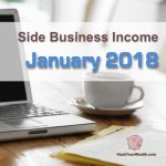 Income Report: January 2018 Side Business Results