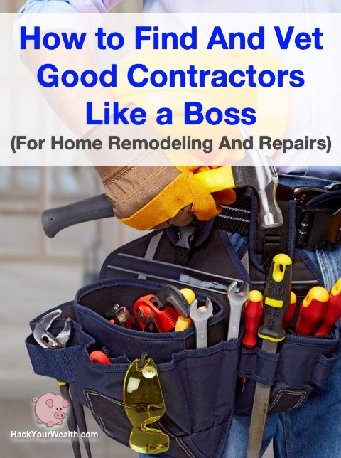 find vet good contractors