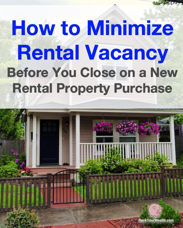minimize rental property vacancy