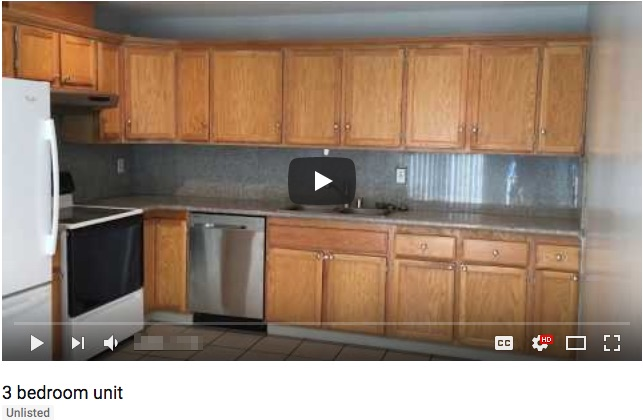 video tour rental property