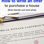 How to write an offer to purchase a house (that stands out and wins)