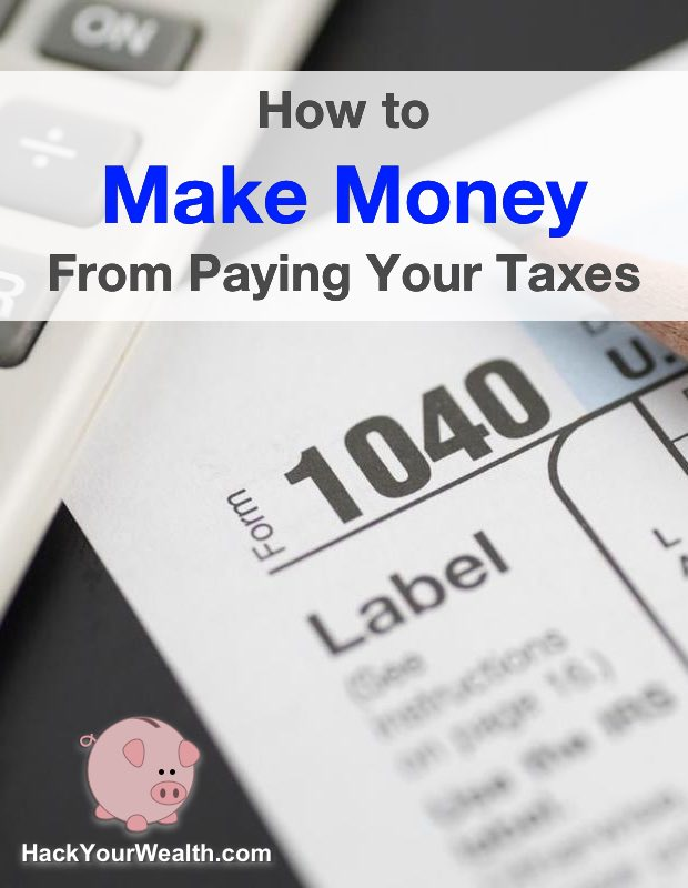 make money from paying taxes