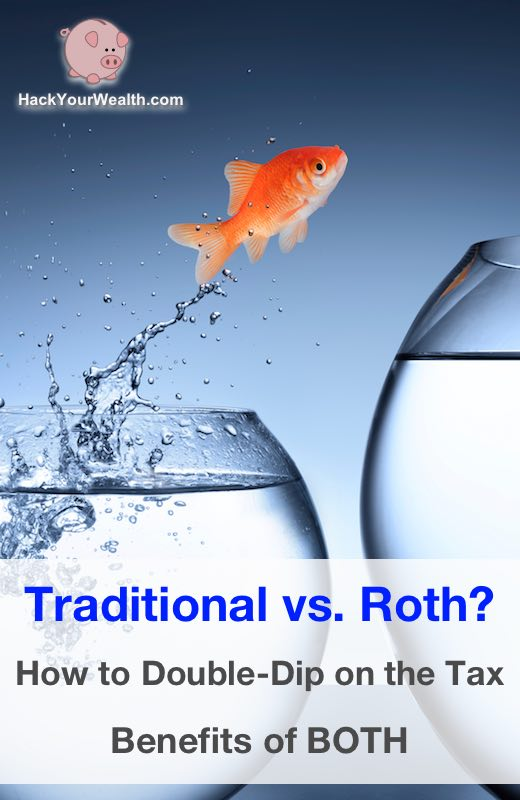 traditional vs roth how to get tax benefits of both