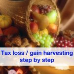 Tax loss harvesting and tax gain harvesting step by step
