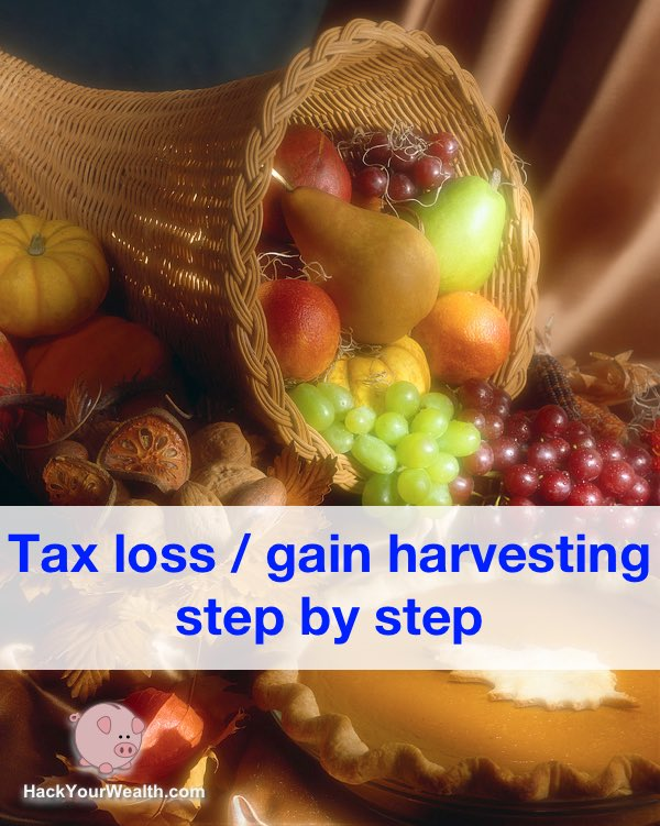 tax loss harvesting tax gain harvesting step by step